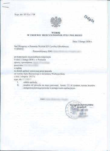 WyrokapelacjaBorowska